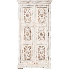 Painted White Armoire With Tassels! Heaven | Winter White | Pinterest |  Armoires, Door Mirrors And French Chateau