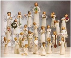 Love Willow Tree Figurines!