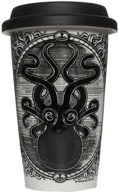 Hot or Cold Drink Tumbler from Sourpuss -Kraken Up