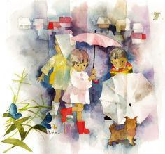 二人の巨頭が案内する、絵本の世界 「高畑勲がつくるちひろ展 ようこそ!ちひろの絵のなかへ/ 奈良美智がつくる茂田井武展 夢の旅人」