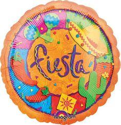 Fiesta Ole Ole Balloon,  fiesta party decor, fiesta, pepper, cactus