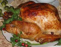 Самые лучшие кулинарные шедевры: Богатое и полезное блюдо Индейка, фаршированная яб...