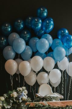 baby boy birthday party A perfectly simple first birthday for our baby boy. With an ombre blue ballon garland and all the natural Pacific Northwest touches! Boys First Birthday Party Ideas, Baby Boy 1st Birthday Party, Elegant Birthday Party, Birthday Themes For Boys, Diy Birthday Decorations, Cake Birthday, Birthday Photos, Balloons For Birthday, 21st Balloons