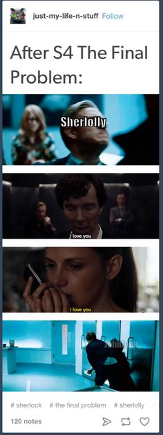 Sherlolly punching Johnlock in the face...I dont ship Sherlolly but I guess you guys were happy when they said that