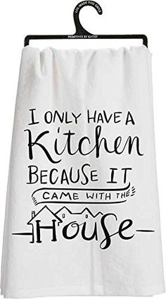 Primitive by Kathy Tea Towels are made from strong, high quality Cotton for softness and durability. Primitives by Kathy is a leading producer of high quality decorative box signs, home decor, and accessories.