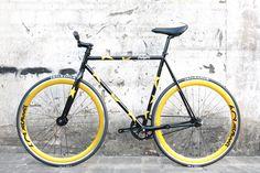 7c83d05a065 700c Daiquiri LTD Patriot Fixed Gear Bike Fixie Single Speed Bicycle Track  M 54