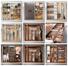 drawer inserts for kitchen (poggenpohl)