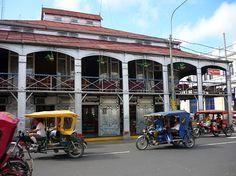 Iquitos, Peru.  The Casa de Fierro, designed by Gustave Eiffel who built the Eiffel Tower!!