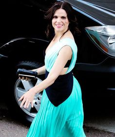 Awesome Lana outside at ComicCon 2015 in San Diego Ca Saturday 7-11-15