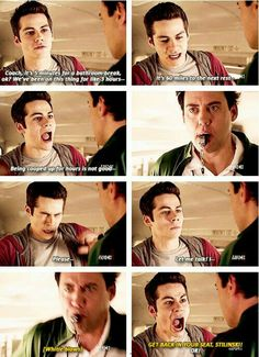 Stiles is so pised off right now