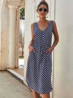 MID-SUMMER 2019 Drawstring Dress