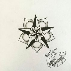 from @loagermarkeys -  Small mandala tattoo design for my sister!  @alexiiisann…