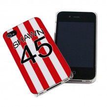 Personalised Stoke City Style Shirt iPhone Case