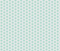Color dots-mint-l fabric by miamaria on Spoonflower - custom fabric