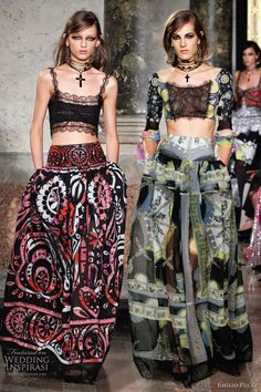 emilio pucci gypsy fashion - love, love, love the skirts!!