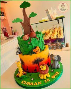Safari Cake by Cutsie Cupcakes