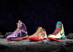 NIKE LEBRON X & KD V & KOBE VIII SYSTEM 2013 NBA ALL STAT GAME #sneaker