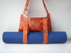 SALE SALE!!!! It was €45, now it is only €30. This is the only bag made from the beautiful Batik fabric from Holland. You can be sure, you are the only owner of this bag. Buy it for yourself or for your loved one. Dont miss it!  Only One!  Beautiful cross body bag and yoga bag in one!  This is the smaller version of a yoga bag, just for you who like to carry only the essential things and not the whole wardrobe :) The strap is adjustable to your need. For yoga class, you can just sling your…
