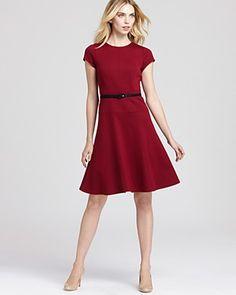 a-line work dress