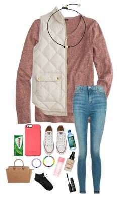 """""""Day 1- School Festival!!"""" by sarah-grace-m ❤ liked on Polyvore featuring J.Crew, Topshop, Converse, Michael Kors, Bobbi Brown Cosmetics, Victoria's Secret PINK, NARS Cosmetics, NIKE and kennshalloweencontest"""
