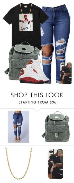 """""""It's been a while"""" by amk-killa ❤ liked on Polyvore featuring Gucci and MCM"""
