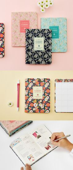 Weekly and daily plans can be beautifully planned out in our well-made Ardium Premium Flowery Journals! So many pretty flowery designs to keep you refreshed and feel amazing!