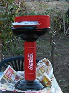 Coca Cola BBQ rare metal barbecue