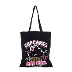 David and Goliath Cupcakes Tote Bag
