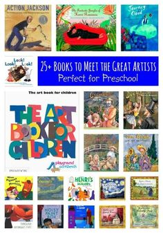 25+ Books to Introduce the Great Artists to Preschoolers.  The first in our series, Exploring Art History with Preschoolers series