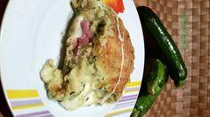 Sformato di zucchine e patate ripieno