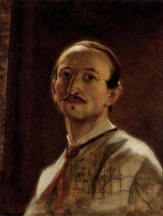 Self Portrait 1867 - Artur Grottger- (Polish: 1837-1867)