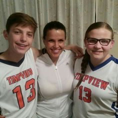Very proud mom! Baylee and older brother Brayden were both on the Timpview basketball teams last year. 2014-2015.
