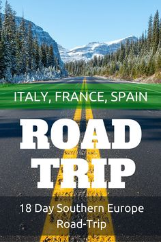 Follow our 18 day journey across 3 countries: Italy, France and Spain (4 including Monaco). If you've ever thought about taking a road trip around southern Europe, here's the ultimate guide to get you started. Includes toll prices, fuel and milage.