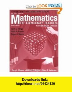 Download pdf of applied thermodynamics for engineering technologists mathematics for elementary teachers hints and solutions manual for part a problems a contemporary approach fandeluxe Choice Image