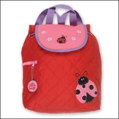quilted ladybug backpack