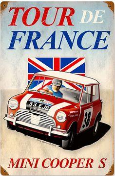 Mini Cooper S ..Tour De France