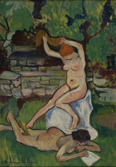 Suzanne Valadon, Nus (1919, Museu de Arte de São Paulo)