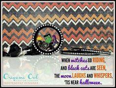 for Halloween!  Tinkerbella.origamiowl.com www.facebook.com/OrigamiOwlHelenaTrangataIndependentDesigner33874