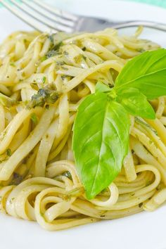 Weight Watchers Linguine with Butter and Herbs