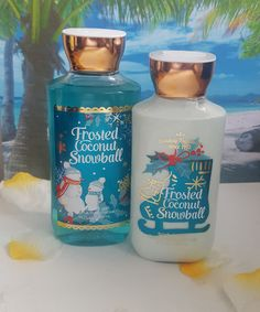 bath and body works frosted coconut snowball shower gel and body lotion #ebay #deals #fragrance #beauty #giftideas #deal #makeup
