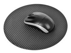 Carbon Touch Carbon Fiber Circle Mousepad