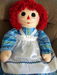 Raggedyn Ann and Andy dolls ... Love this doll!  She can be personalized too!