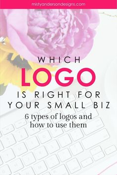 With so many choices how do you know which logo is right for your business? Learn about the 6 types of logos and how you can choose the right one for your biz. Business Branding, Business Marketing, Business Launch, Corporate Branding, Media Marketing, Corporate Design, Personal Branding, Logo Design, Brand Design
