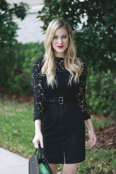 Black Lace Dress | A Daydream Love