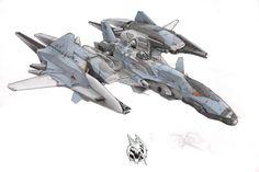 Spacecraft 2 by *Shraznar on deviantART