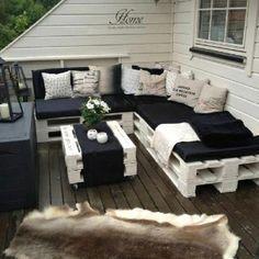 Outdoor furniture idea