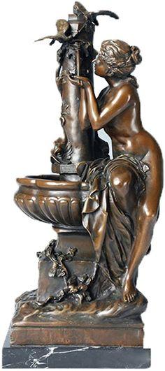 Toperkin God Bronze Statues Handmade Figurine Sculpture Home Decor Metal Sculptures, Bronze Sculpture, Sculpture Art, Garden Sculpture, Pottery Lessons, Fairy Statues, Effigy, Aluminum Metal, Metal Casting