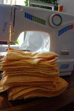 Tutoriel de couture pour des lingettes lavables ou cotons à démaquiller