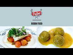 YouTube Fresco, Robin Food, Salsa, Albondigas, Meat Chickens, Baked Potato, Tacos, Potatoes, Baking