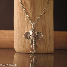 Olifant Ketting Foto KZL079.jpg - VGP Jewelry 8,49 euro 70 cm